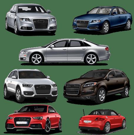 skup samochodów audi modele