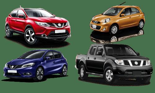 skup samochodów nissan modele
