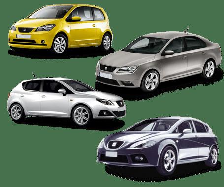 skup samochodów seat modele
