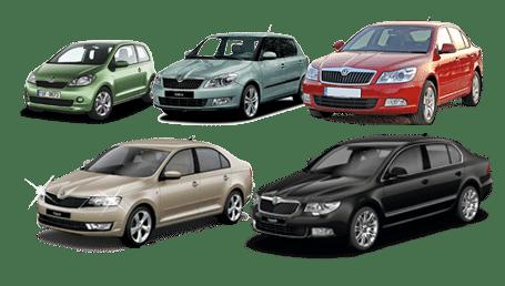 skup samochodów skoda modele