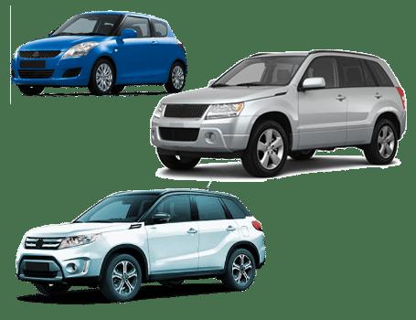 skup samochodów suzuki modele
